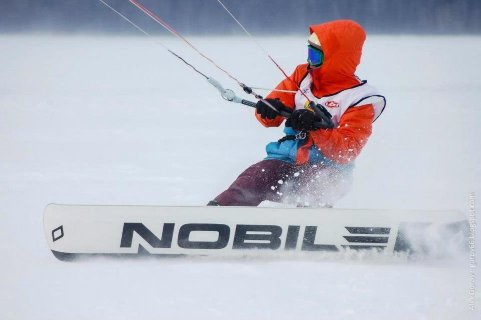 Сноукайтборд Nobile Race Snowkite 2014 3.jpg