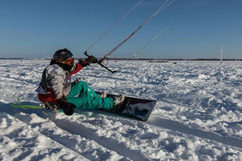 Сноукайтборд Nobile Race Snowkite 2014 4.jpg